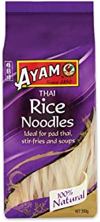 AYAM Rice Noodles | 100% Natural | Gluten, Egg, Dairy, Nut, Fructose & Shellfish Free | for Vegans | Cooks in 5 Minutes | ...