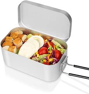 CrystalMX 飯ごう アルミ 飯盒 正規品 調理器具 メスティン キャンプ アウトドア 炊飯 バフ研磨済み バリなし 万能な野外用食器 収納ボックス 煮る 蒸す 炊く CX-210