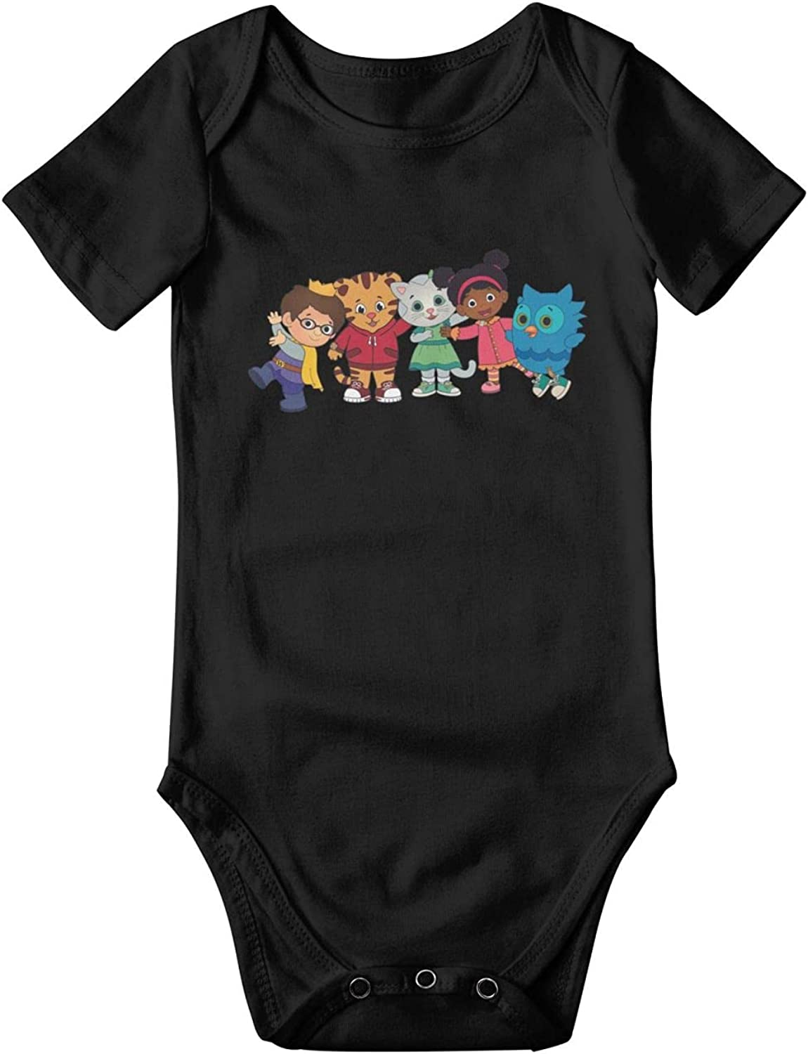 Daniel Tiger Baby Cotton Short Clothes Infa Special price Sleeve Soft Max 68% OFF Crawling