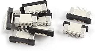 Aexit Bottom Port Audio & Video Accessories 8Pin 0.5mm Pitch FFC FPC Ribbon Sockets Connector Connectors & Adapters 10 Pcs