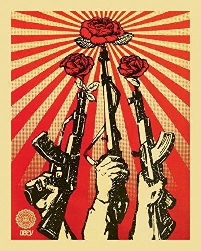 Shepard Fairey – Guns and Roses: Obey Poster (40,64 x 50,80 cm)