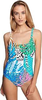 Rösch Beach 1215542-16364 Women's Multicolor Leaves Swimsuit