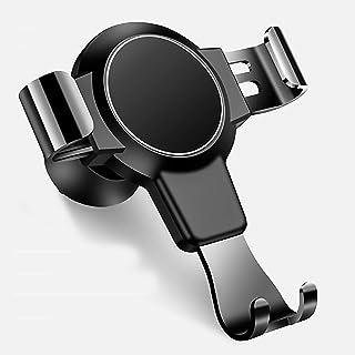 حامل هاتف للسيارة من اف كانت، مناسب للتثبيت على فتحة التهوية، مع ميزة القفل الذاتي