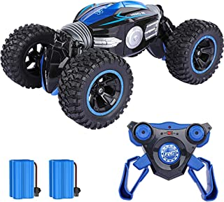 KKEYE Remote Control Cars for Kids RC Car 4WD Off Road Vehicle Rock Crawlers Stunt Drift Monster Trucks 20Km/h High Speed Buggy Hobby Racing Car Model Toys Xmas Gifts for Boys Girls