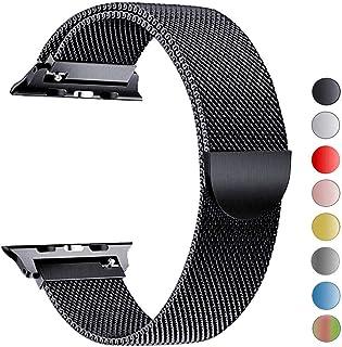 VIKATech Compatible Cinturino per Apple Watch Cinturino 44mm 42mm 40mm 38mm, Cinturino Orologio Bracciale in Acciaio Inossidabile Cinghia Banda Bracciale per iWatch Series 4/3/2/1