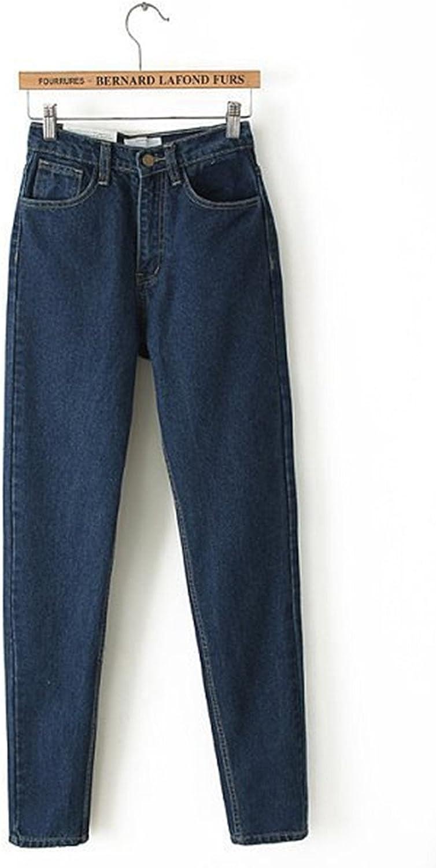 Jwhui womens high cowboy pants vintage cowboy full length pants loose cowboy pants