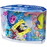 Penn-Plax 0.5 Gallon Spongebob Squarepants Betta Aquarium Kit, 7.75 in