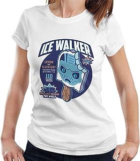 RHEYJQA Ice Walker Game of Thrones Women's T-Shirt