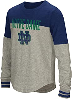 Colosseum Notre Dame Fighting Irish Girls Baton Long Sleeve T-Shirt