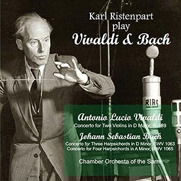 Karl Ristenpart Play Vivaldi & Bach