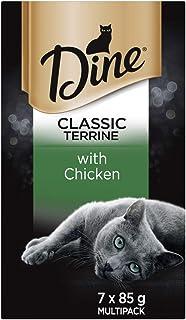 DINE 12317 Chicken Terrine Cat Wet Food 7 x 85g