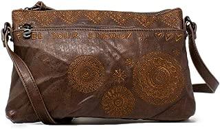 Luxury Fashion | Desigual Womens 19WAXPD8BROWN Brown Shoulder Bag | Fall Winter 19