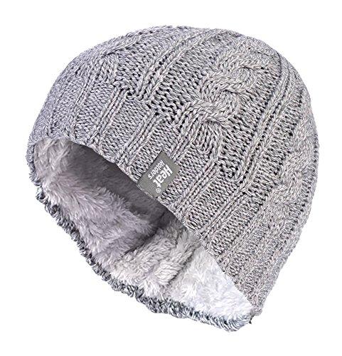 HEAT HOLDERS - Femmes Chaud Hiver Chapeau/Bonnet in 7 Couleurs (One Size, Light Grey)