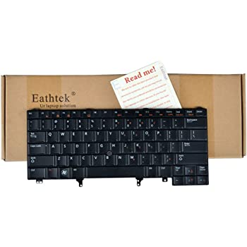 US layout black color Replacement Keyboard With Backlit Without Pointing Stick For Dell Latitude E6220 E6230 E6320 E6420 E6430