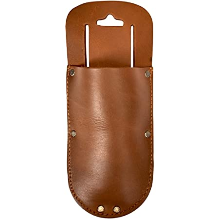 Thick Leather Holster for Pruning Shears w//Belt Loop Garden Sci... Details about  /Hide /& Drink