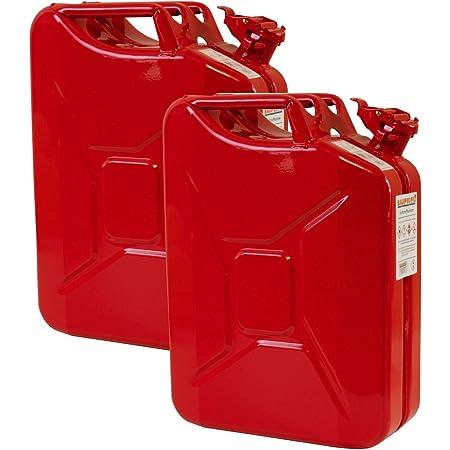 1 x 20 Liter Benzinkanister Metall GGVS mit Sicherungsstift
