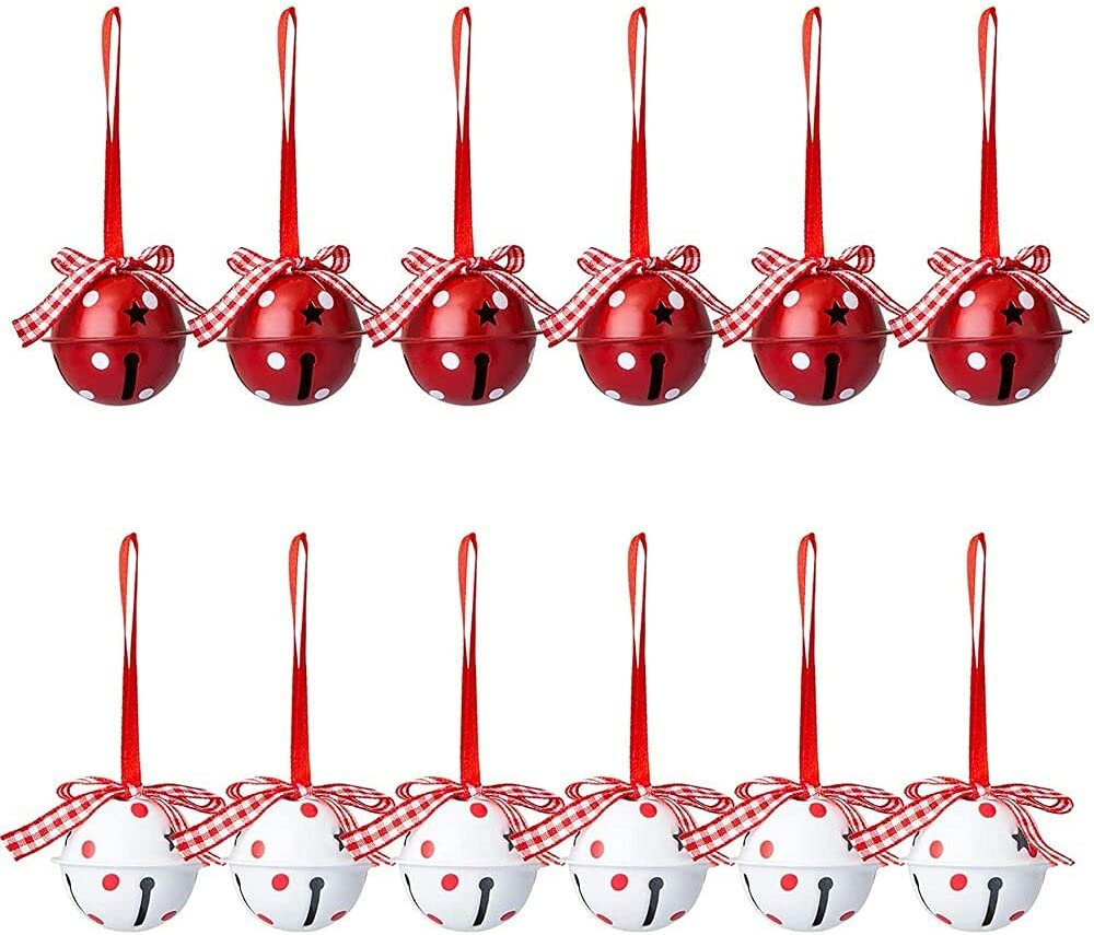 baidicheng 12 Pcs Lot Christmas Bells Decorations Selling and selling Ornament 2021new shipping free shipping Craft
