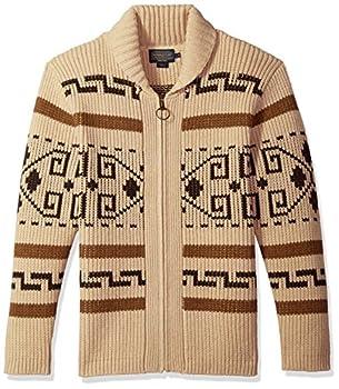 Pendleton Men s Original Westerley Sweater Tan/Brown X-Large