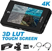 Fotga DP500IIIS A70TL 7 Inch Touch Screen FHD IPS Video On-Camera Field Monitor,3D LUT,1920x1080,4K HDMI Input/Output,Dual NP-F Battery Plate NP-F970 NP-F770 for DSLR Mirrorless Cinema Camera Camcorde