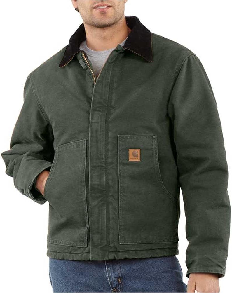 Carhartt Men's Big & Tall Arctic Quilt Lined Sandstone Traditional Jacket