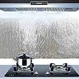 Bleulover Autocollant D'Huile De Cuisine En Aluminium Film Auto-Adhésif Cuisine Anti...