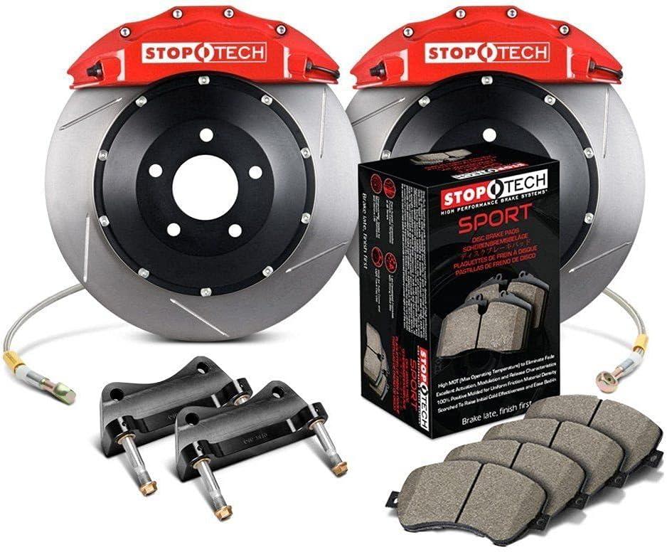 StopTech 83.645.0047.61 Big Brake Brand Cheap 4 years warranty Sale Venue Kit Pack 1