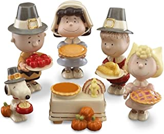 Best lenox peanuts thanksgiving 6 piece figurine set Reviews