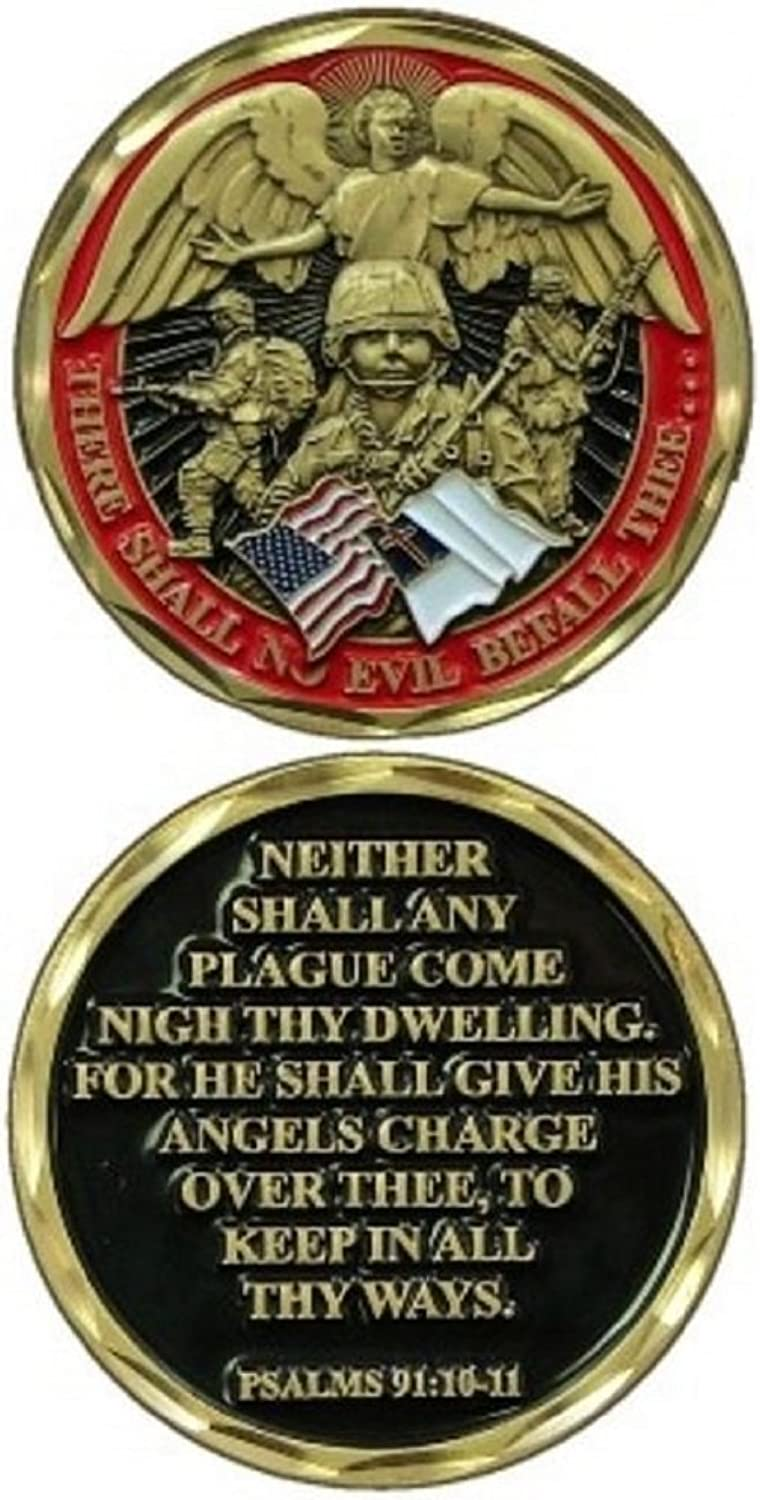 NEW Soldier's Psalm Challenge Coin by Eagle Crest