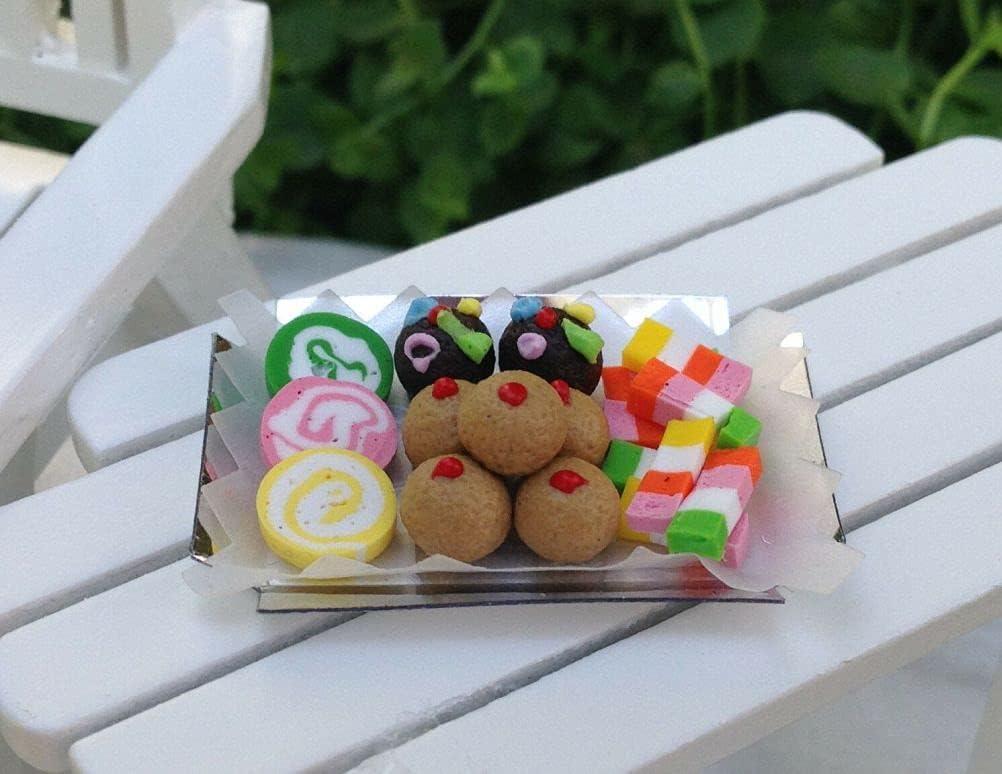 SYTZ Miniature Dollhouse Fairy Attention brand Garden Tray of Accessories Assort wholesale