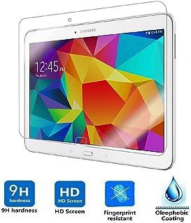 REY Protector de Pantalla para Samsung Galaxy Tab 4 10.1 Cristal Vidrio Templado Premium