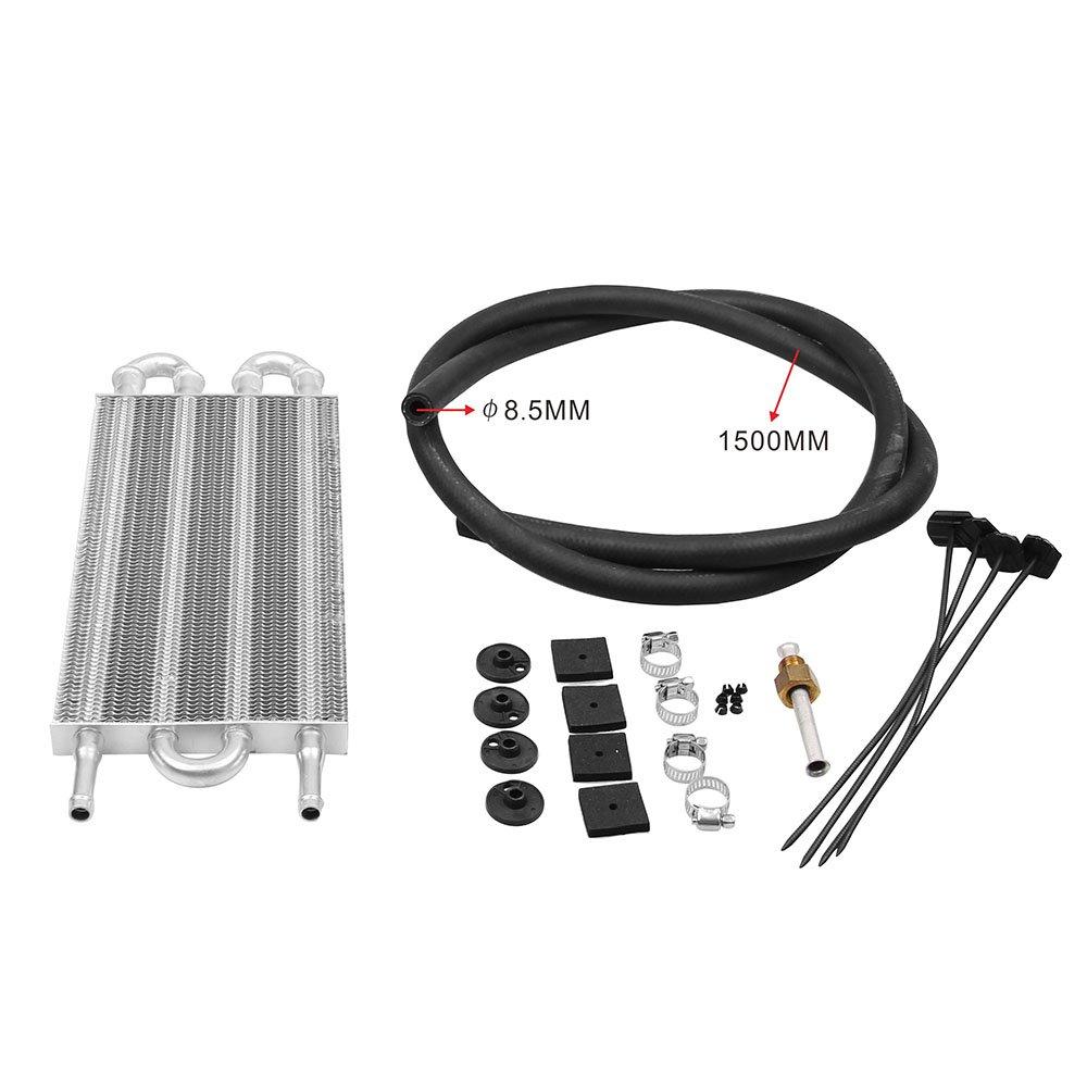 TOC003 Aluminio Transmisión Remota Sistema de Enfriador de Aceite ...