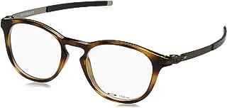 Oakley Designer Eyeglasses Pitchman R OX8105-0350 in Brown-Tortoise 50mm DEMO LENS