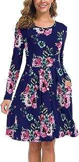 apricot swing dress