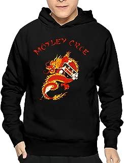 Men's Motley Crüe New Tattoo Hooded Hoodie Sweatshirt Graphic Sweatshirts