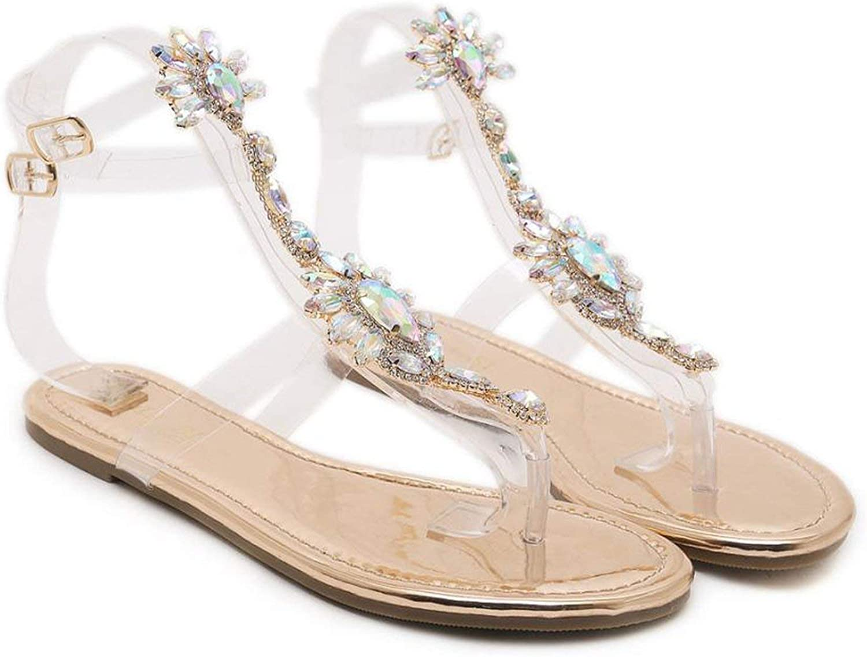Bling Sandals Beach Sandals Fashion Bling Slippers Summer Flat shoes Femme