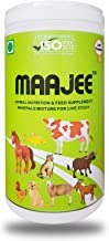 GLOBAL EARTHS MAAJEE Minerals Mixture and Feed Supplement Natural Chemicals-Free Powder for All Animals (900 g)