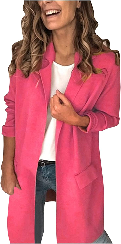 Blazer Jackets for Women,Womens Blazers for Work Lightweight Slim Lightweight Jackets Open Stitch Blazer Women