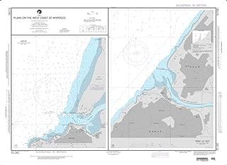 NGA Chart 51181-Plans On The West Coast of Morocco; Plan A: Larache