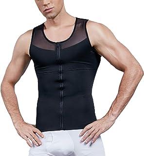 پیراهن زیر پیراهن تاشو جلیقه فشرده سازی و شکل دهنده بدن Vaslanda Mens برای کاهش وزن
