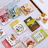 BLOUR Kawaii Food Stationery Aufkleber Niedliche Tieraufkleber Papierkleber Aufkleber für Kinder...