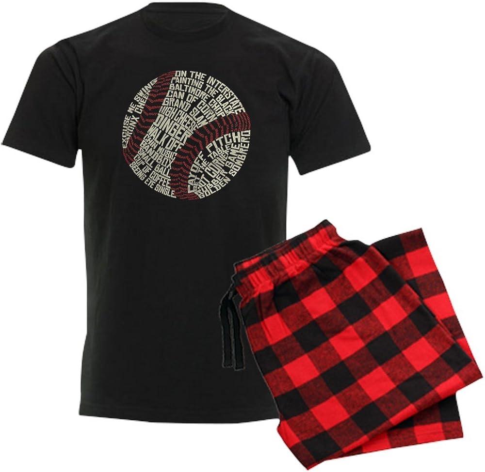 Max Max 59% OFF 70% OFF CafePress Typographic Baseball Slang Pajama Set Words