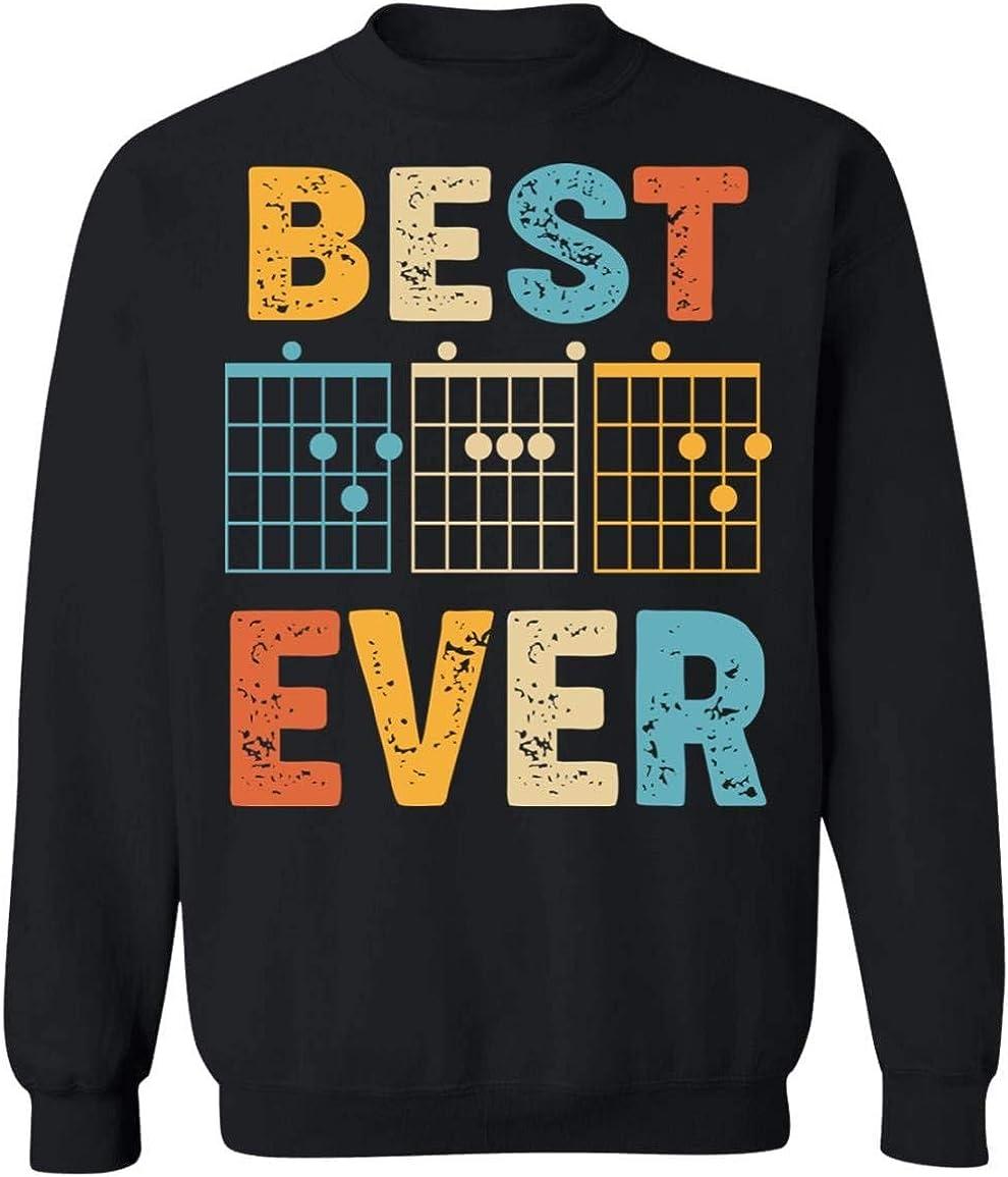 UrVog Best Dad 高品質 Ever Guitar Hoodie Sweatshirt 新品 - Notes