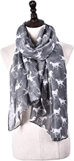 Scarf Balinese Yarn Gentle Touch Feature Print Spring-Summer Autumn-Winter Shawl Multi-Function air-Conditioning Cooling Measures Woman 10 Colors Selected` TuanTuan (Color : Gray)