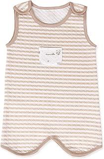 organicboom Gomgomi Stripe Sleeping Quilted Jacquard Vest Baby