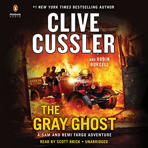 The Gray Ghost audiobook cover art
