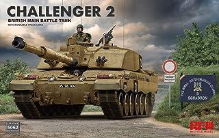 ライフィールドモデル 1/35 イギリス陸軍 チャレンジャー2 w/連結組立可動式履帯 プラモデル RFM5062
