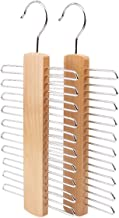 Qjbh1 A Hanger That is Convenient for People to use, Saving Space (Color : Wood Color)