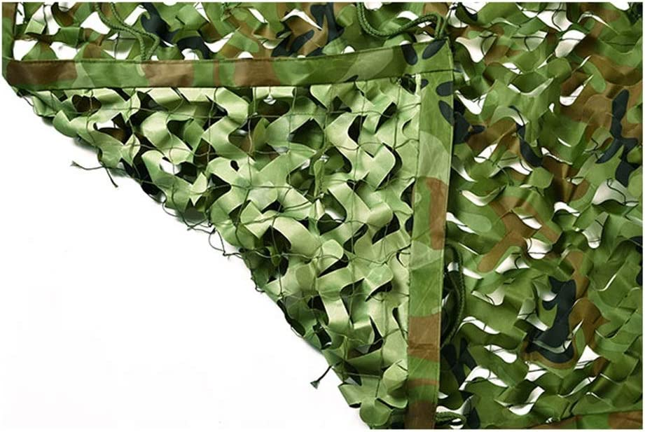 Camo Selling rankings Netting NEW before selling with Mesh Backing 6X6m Woodland Camou 20ft X