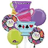 Anagram Tea Time Party Bouquet of Balloons, kit, Party, Set, Decorations, Decor