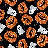 Halloween Stoff–Pumpkins & Ghosts